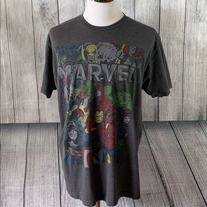 Mens Marvel Graphic Short Sleeve Shirt